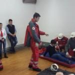 Demonstrații acordare prim ajutor la Școala Gimnazială din Daia Română