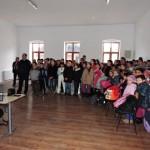 Activitate de informare a elevilor Școlii Gimnaziale din Câlnic cu privire la rolul Jandarmeriei în cadrul forţelor de ordine publică