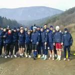 Două antrenamente zilnice pentru jucătorii de Șurianu Sebeș, în cantonamentul de la Codlea