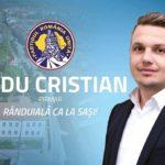 """(P) Alegeri Locale 2016 – Radu Cristian: """"Avem o dorinţă fermă să facem ca Sebeşul să arate mai bine"""""""
