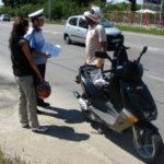Bărbat de 36 de ani județul Mureș surprins de polițiștii din Câlnic în timp ce conducea un moped fără a avea permis