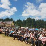 """Astăzi a avut loc în Luncile Prigoanei cea de-a 42 ediție a Festivalului Păstoresc """"Zi Bade cu fluiera"""""""