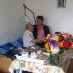 Primăria Municipiului Sebeş l-a premiat pe domnul Gheorghe Gafton, veretan de război, la împlinirea venerabilei vârste de 100 de ani