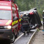 Femeie de 69 de ani din București rănită în urma unui accident rutier petrecut pe DN 67C
