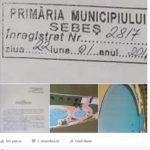 Consilierul PRU Radu Cristian susține că ideea modernizării Parcului Arini din Sebeș îi aparține