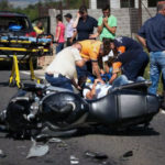 Motociclist din Sebeșel rănit după o coliziune cu un autoturism petrecută pe DN67C, între Săsciori și Petrești