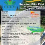 """Între 23 și 25 septembrie 2016 are loc """"Șureanu Bike Fest"""", prima ediție, în Luncile Prigoanei. Vezi PROGRAMUL evenimentului"""