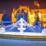Șebeșul a îmbrăcat haine de sărbătoare: Patinoar gratuit și parc luminat feeric, în așteptarea deschiderii Târgului de Crăciun