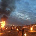 Circa 700 de sebeşeni au participat la tradiţia opaiţelor aprinse de Lăsatul Secului