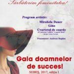 Vineri, 10 martie 2017: Ziua Internațională a Femeii va fi sărbătorită la Sebeș printr-o GALĂ dedicată doamnelor de succes