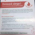 """Municipalitatea din Sebeș susține campania națională de donare de sânge """"O şansă pentru viaţă"""""""