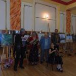 """Casa de Cultură """"Lucian Blaga"""" din Sebeș a găzduit vernisajul expoziției de pictură semnată de Marieta Constantin"""