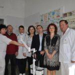 Transiluminator venos donat Secţiei de Pediatrie a Spitalului Municipal din Sebeş de Clubul Rotary