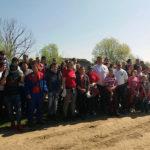 472 de tone de gunoaie au fost strânse la Sebeș de cei peste 1300 de voluntari, reprezentanții a 16 agenți comerciali, funcționari ai primăriei și elevi de la toate școlile din oraș
