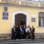 """Întâlnire între administrația locală din Sebeș și o delegație străină, în cadrul Programului Internaţional de Promovare """"Romanian Investment Zoom"""""""