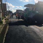 Primăria Sebeș anunță că a demarat lucrări de reparație a carosabilului de pe DN 1, pe raza localității Lancrăm
