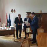 O delegaţie oficială a Municipiului Sebeş prezentă la Komárom, în Ungaria