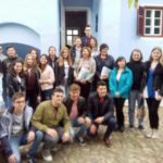 """Carmen Iohannis, însoțită de elevi, a vizitat Casa Memorială """"Lucian Blaga"""" din Lancrăm"""