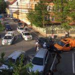 Autoturism furat dintr-o stație de benzină, amplasată pe Autostrada A1 în județul Alba, recuperat de polițiștii din Sibiu după o urmărire ca în filme