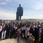 Eveniment emoționant la statuia marelui poet Lucian Blaga din Lancrăm
