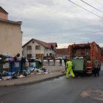 Intervenție a autorităților locale din Sebeș după ce operatorul de salubritate Green Days nu a mai ridicat gunoiul menajer din cartierul Kogalniceanu