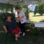 276 de persoane consultate și aproximativ 60 de litri de apă distribuiți, în cursul zilei de ieri, 3 august 2017, la punctele de prim ajutor din Sebeș