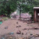 O furtună puternică a făcut ravagii în satul Dobra, din comuna Șugag