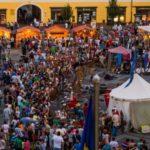 """Rock medieval, dans și jonglerii cu foc în închiderea Festivalului Medieval """"Cetăți Transilvane"""", de la Sibiu"""