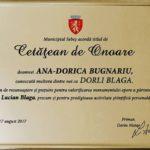 Reconciliere între fiica lui Lucian Blaga şi autorităţile locale din Sebeş