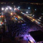 Concertul formației Carla`s Dreams, susținut cu prilejul Zilelor Orașului Sebeș, a atras în Parcul Arini peste 10.000 de spectatori