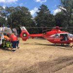 Bărbat de 60 de ani din Sebeș, transportat de urgență cu un elicopter SMURD la Cluj Napoca, după ce a suferit un infarct miocardic