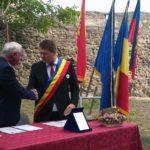 Primarii din Sebeș și Budingen au reconfirmat, în mod simboloc, protocolul de colaborare semnat acum un deceniu