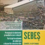 Mâine, 16 septembrie 2017, are loc o nouă campanie de colectare DEEE, la Sebeș