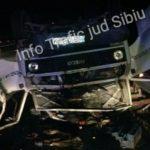 Două persoane rănite în urma unei coliziuni între o autoutilitară și un autoturism, petrecută pe Autostrada A1, între Apoldu și Săliște