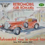 """Între 15 și 17 septembrie 2017, Sebeșul va fi gazda evenimentului """"Retromobil vine în orașul tău!"""""""