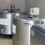 Centrul de colectare a laptelui ecologic de la Loman, cu 37 de producători certificați, este unul din principalii furnizori ai companiei Napolact