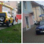 Staționarea în locuri interzise le-a intrat în sânge unor șoferi din Sebeș