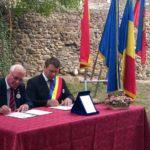 Primarii din Sebeș și Budingen au semnat, în mod simbolic, prelungirea protocolului de înfrățire înființat acum un deceniu între cele două localități