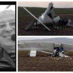 """Zaharia Groza, pilotul avionului de mici dimensiuni care a aterizat forțat ieri lângă restaurantul """"Lutsch 2000"""" a decedat la un spital din Târgu Mureș"""