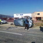 Tânăr de 20 de ani din Șpring reținut de polițiștii din Alba Iulia, după ce a condus beat și fără permis un autoturism cu care a provocat un accident rutier, la Drâmbar