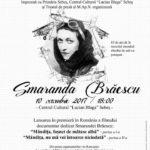 """Marți, 10 octombrie 2017, proiecție specială a filmului documentar """"Smaranda Brăescu"""", la Centrul Cultural """"Lucian Blaga"""" din Sebeș"""