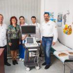Nemții de la Star Transmission au donat un ecograf, în valoare de peste 93.000 de lei, secției de Pediatrie a Spitalului Municipal Sebeș