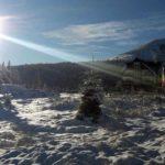 Sosirea iernii a adus peisaje de basm și liniște, în Munții Șureanu