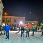Pentru un patinoar similar cu cel închiriat de către Primăria Aiud municipalitatea din Sebeș platește cu 10.000 de euro mai mult