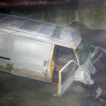 Bărbat de 35 de ani din Câlnic rănit în urma unui accident rutier petrecut în județul Sibiu. Șoferul autoutilitarei în care acesta călătorea a decedat