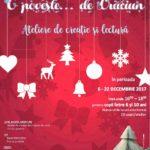 """Ateliere de creație și de lectură la Centrul Cultural """"Lucian Blaga"""", cu prilejul ediției 2017 a """"Târgului de Crăciun"""" de la Sebeș"""