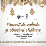 Miercuri, 20 decembrie 2017, Parcul Tineretului din Sebeș va găzdui un concert de colinde și cântece tradiționale de Crăciun