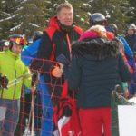Preşedintele Klaus Iohannis s-a aflat astăzi la schi, în masivul Şureanu