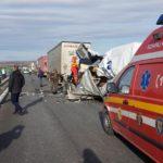 Două accidente au perturbat traficul, pe sensul de mers înspre Sebeș al Autostrăzii A1 Sibiu-Deva, în zona localității Aciliu