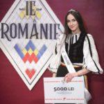 """Raluca Marini, din Săsciori, a câștigăt finala pe Transilvania a show-ului """"Ie, Românie"""""""